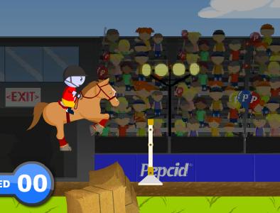 Ló ugrató verseny